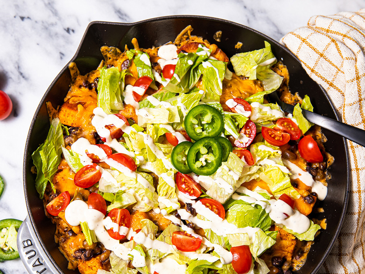 Image of Loaded Sweet Potato Nachos