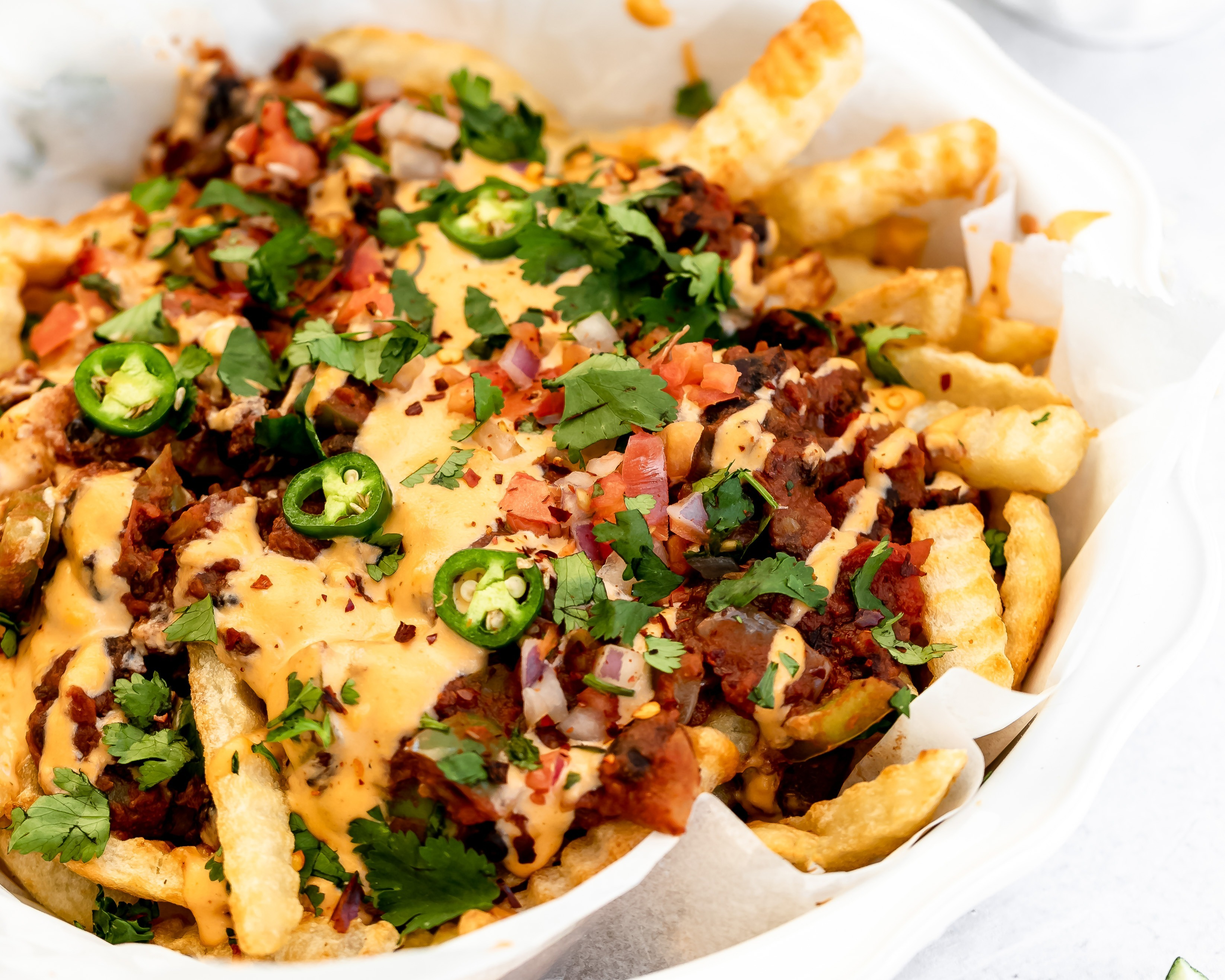 Image of Vegetarian Chili Cheese Fries