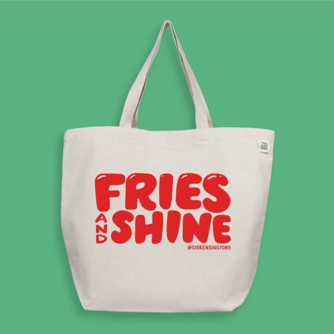 SK Merch Fry Day Web Tote 1 Front
