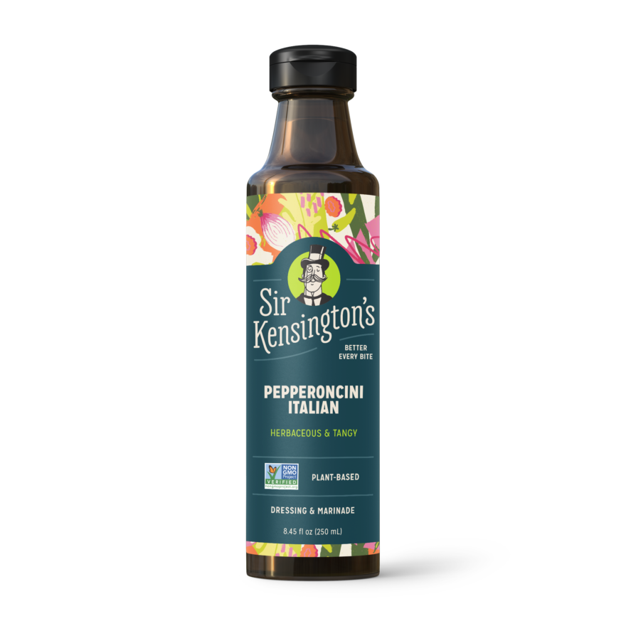 SK 20 Render Vinaigrette Pepperoncini Italian 8oz Bottle FRONT V01